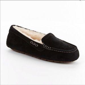 [Ugg] Ansley Black Slipper- Size 8